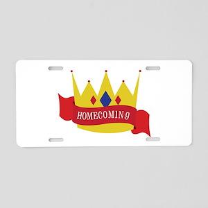 Homecoming Aluminum License Plate