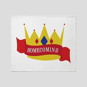 Homecoming Throw Blanket