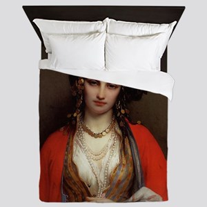 Oriental Beauty Queen Duvet