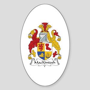 MacKintosh Oval Sticker