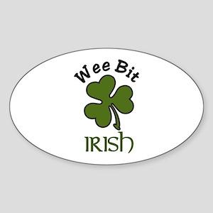 Wee Bit Irish Sticker