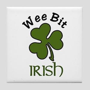 Wee Bit Irish Tile Coaster