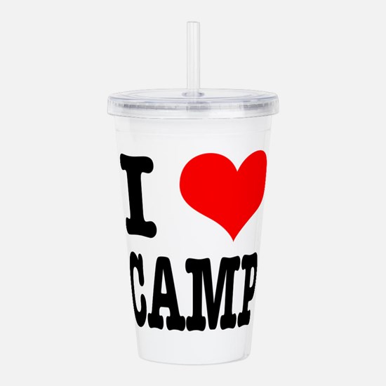 CAMP.png Acrylic Double-wall Tumbler