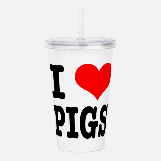 PIGS.png Acrylic Double-wall Tumbler