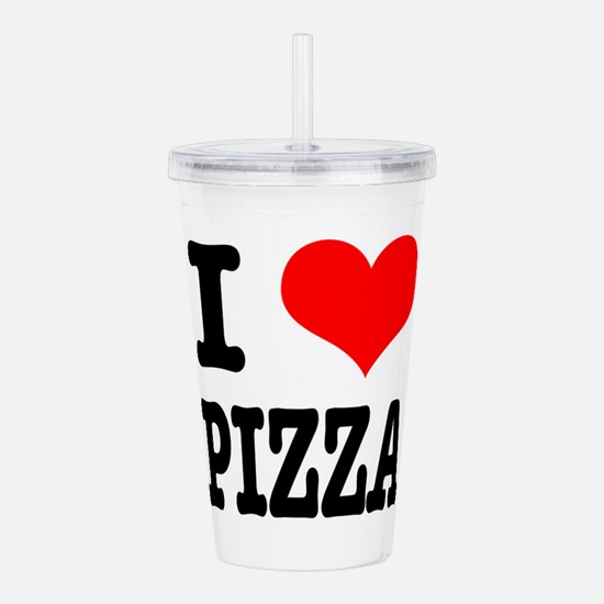 PIZZA.png Acrylic Double-wall Tumbler