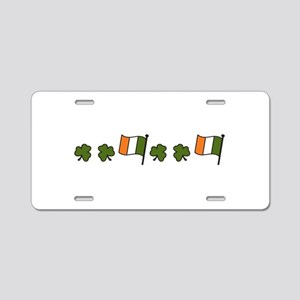 Irish Flag Aluminum License Plate