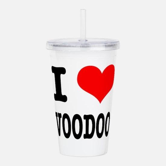 VOODOO.png Acrylic Double-wall Tumbler