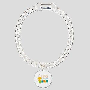 World's Greatest Civil E Charm Bracelet, One Charm