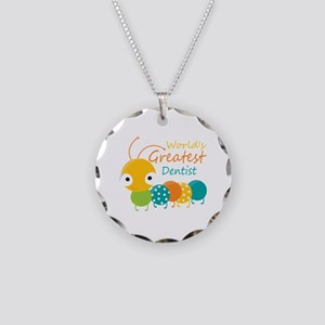 World's Best Dentist Necklace Circle Charm