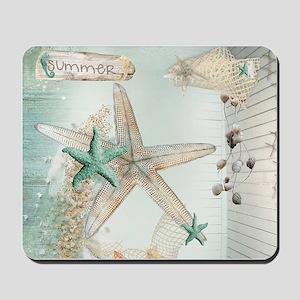 Summer Sea Treasures  Mousepad