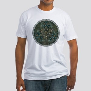 Celtic Trefoil Circle Fitted T-Shirt