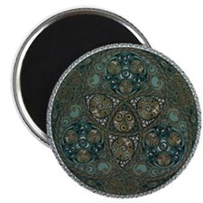 Celtic Trefoil Circle Magnet