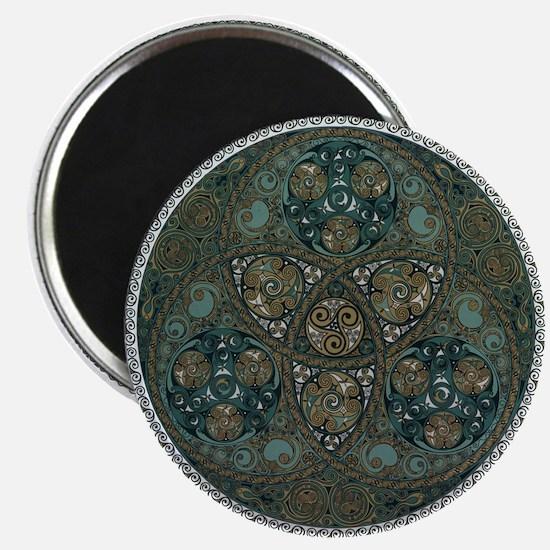 Celtic Trefoil Circle Magnet