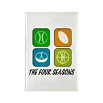 Four Seasons Rectangle Magnet (100 pack)