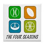 Four Seasons Tile Coaster