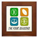 Four Seasons Framed Tile