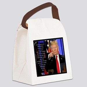 Proud to be a Deplorable Canvas Lunch Bag