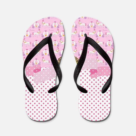 Funny Birthday girls mom Flip Flops