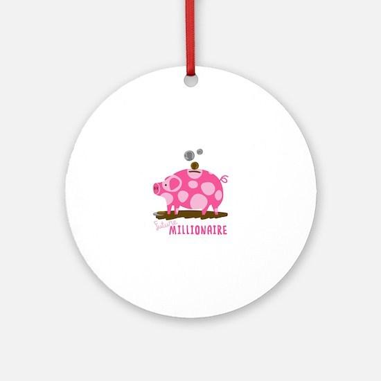 Future Millionaire Ornament (Round)