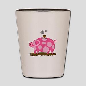 Piggy Bank Shot Glass