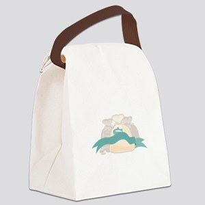 Money Bags Canvas Lunch Bag