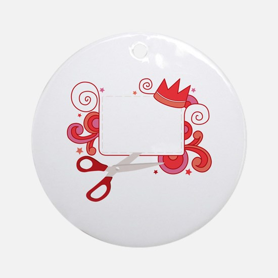 Coupon Cutter Ornament (Round)
