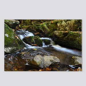 Small Stream Whirlpool Postcards (Package of 8)