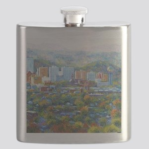 Knoxville, Tennessee Looking Southward Flask