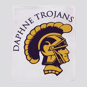 Trojans1 Throw Blanket