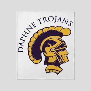 Trojans1 Throw Blanket