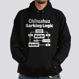 Chihuahua Logic Hoodie (dark)