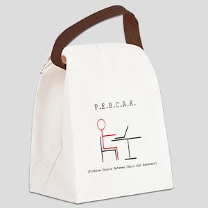 PEBCAK Canvas Lunch Bag