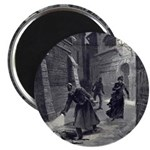 Jack The Ripper Magnet