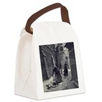 Jack The Ripper Canvas Lunch Bag