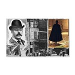 Dr. H.H. Holmes & Jack The Ripper 20x12 Wall Decal