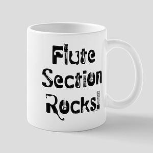 Flute Section Rocks Mug