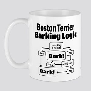 Boston Terrier Logic Mug