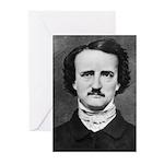 Edgar Allan Poe Greeting Cards