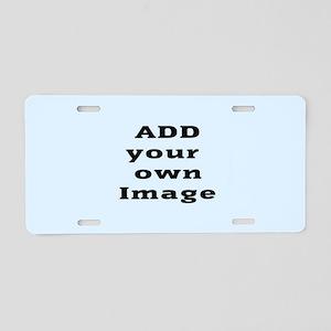Add Image Aluminum License Plate