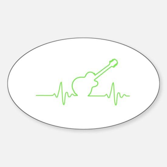 EKGuitar Decal
