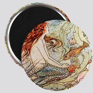 Vintage Mermaid Magnet