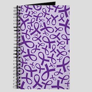 Alzheimer's Purple Ribbon Journal