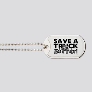 Save a Truck Dog Tags