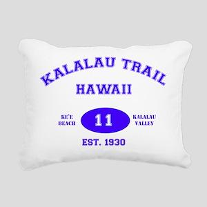 Kalalau Trail Rectangular Canvas Pillow
