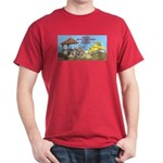 Bulldoze the Smoking Gazebo Dark T-Shirt