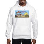 Bulldoze the Smoking Gazebo Hooded Sweatshirt
