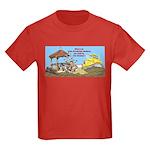 Bulldoze the Smoking Gazebo Kids Dark T-Shirt