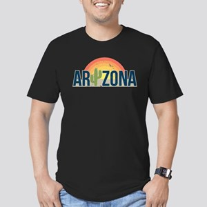 Arizona Men's Fitted T-Shirt (dark)