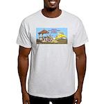 Bulldoze the Smoking Gazebo Light T-Shirt