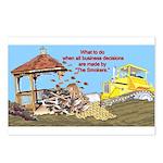 Bulldoze the Smoking Gazebo Postcards (Package of